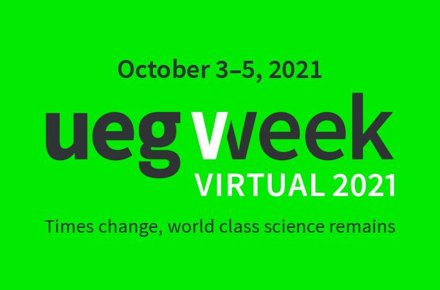 UEG Week Virtual & PGT 2021 - Mark your calendars