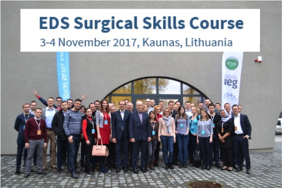 Impressions from the 2nd EDS Surgical Skills Course