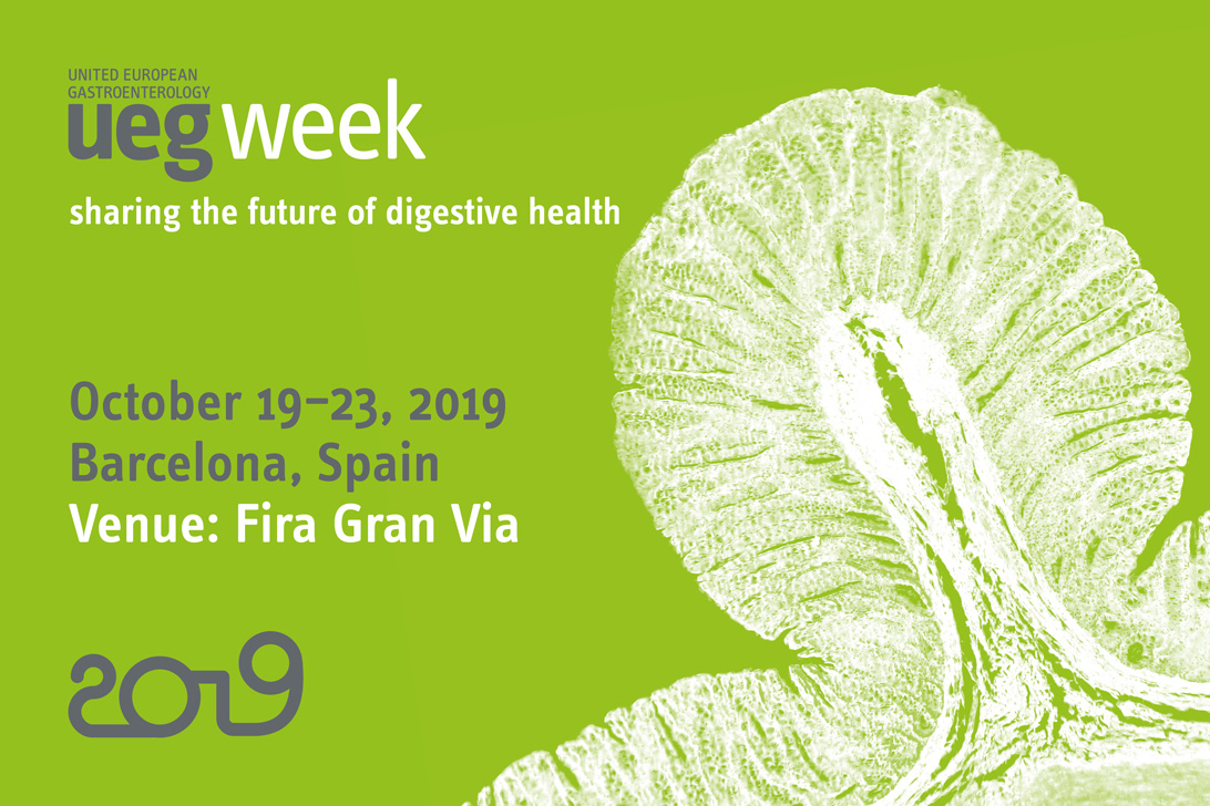 UEG Week 2019 Barcelona - EDS Travel Grants